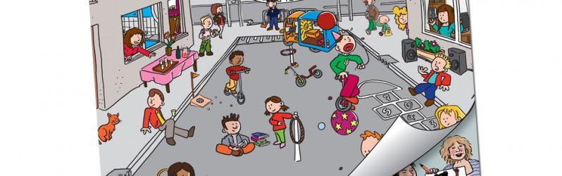 """Antwoordkaart voor """"School op Seef"""" verkeerskalender"""