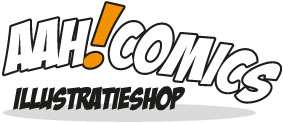 Aah!Comics | Illustratieshop