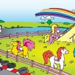 Racing-Poneys