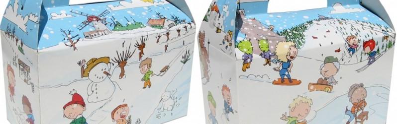 """Winter Snackboxen """"Platteland"""" en """"Bergen"""""""