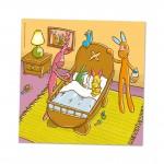 gronilly-tweeling-geboorte-konijn-wenskaart