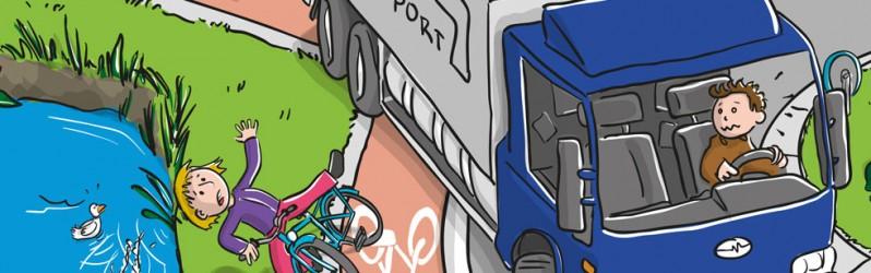 Verkeerskalender Knieboek Maand april 2012