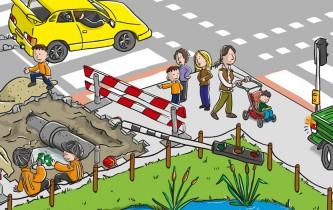 Verkeerskalender Knieboek Maand februari 2012