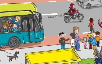 Verkeerskalender Knieboek Maand januari 2012