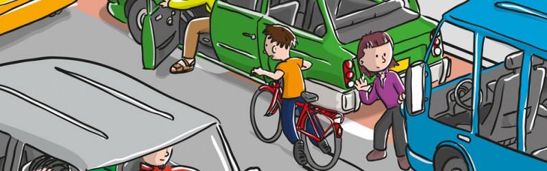 Verkeerskalender Knieboek Maand juni 2012