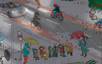 Verkeerskalender Knieboek Maand november 2011-2012